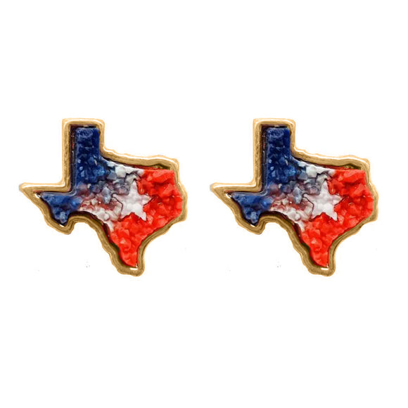 Texas Pride Stud Earrings