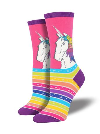 Rainbow Unicorn Women's Socks