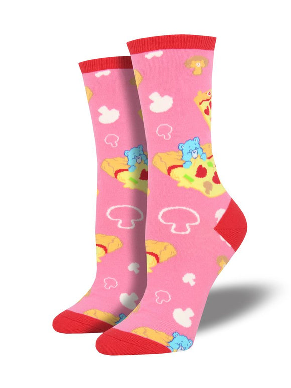 Pizza Dreams Care Bear Women's Socks