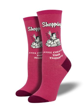 Retail Therapy Women's Socks