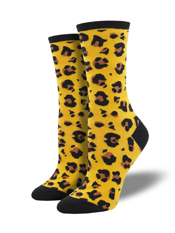 Gold Leopard Women's Socks