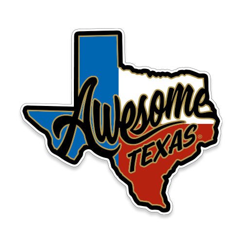 Awesome Texas Sticker