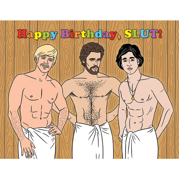 Happy Birthday, Slut! Card