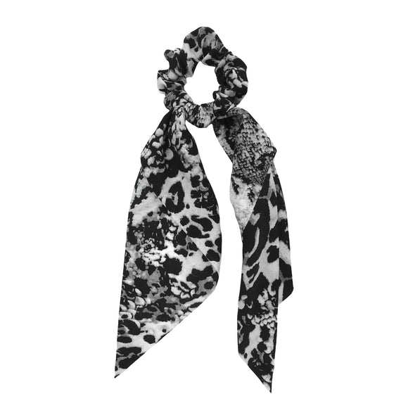 Leopard Snakeskin Scrunchie Scarves [2 Colors]