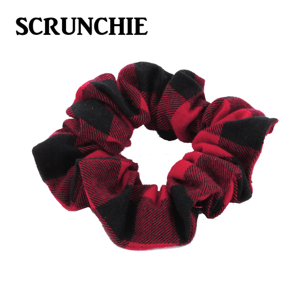 Buffalo Plaid Scrunchie [2 Colors]