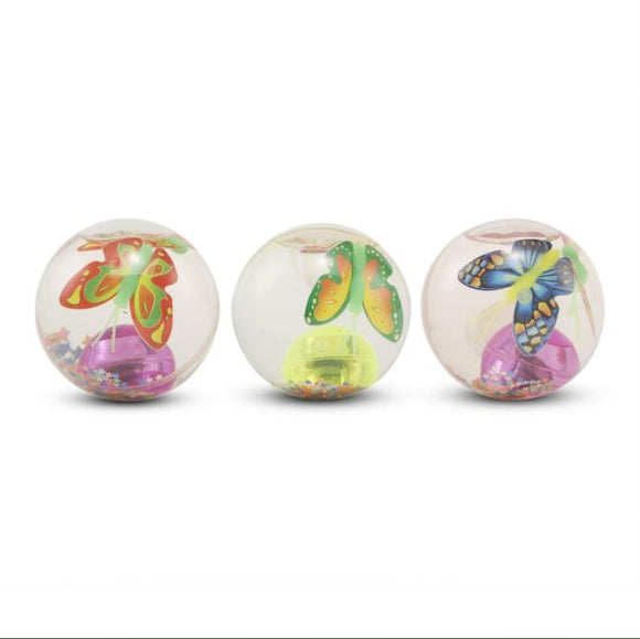 Light Up Butterfly Bouncy Ball