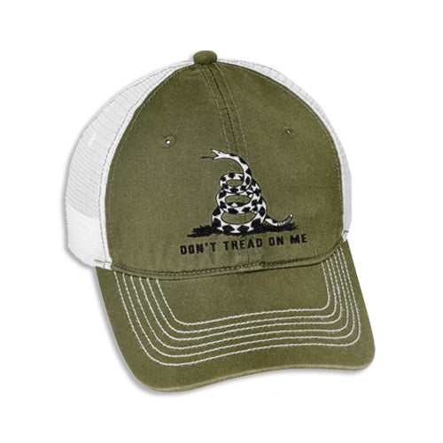 Last Call Don't Tread On Me Trucker Hat