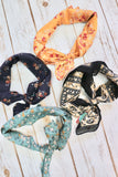 Vintage Floral Neckerchief [4 Colors]