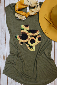 Sweet Sunflower Tank