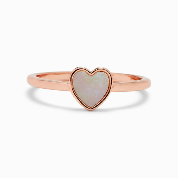 Pura Vida Heart of Pearl Ring