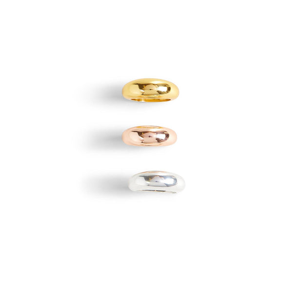 High Society Dome Rings [3 Colors]