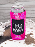 Sweet Sequins Pocket Skinny Can Holder [4 Styles]