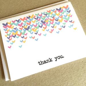 Thank You Card (Multi-Color)