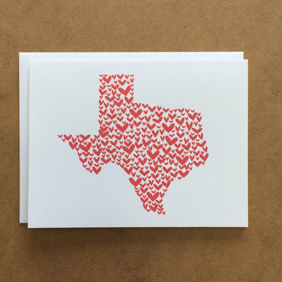 Last Call Texas Hearts Card