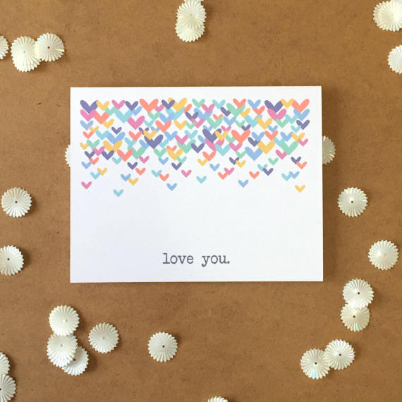 Love You Love Card (Multi-Color)