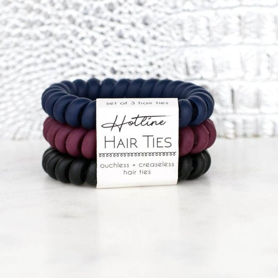 Last Call Hotline Hair Ties [Ivy League Matte]