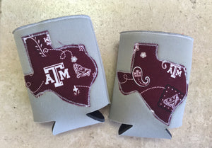 Texas Aggie Can Holder