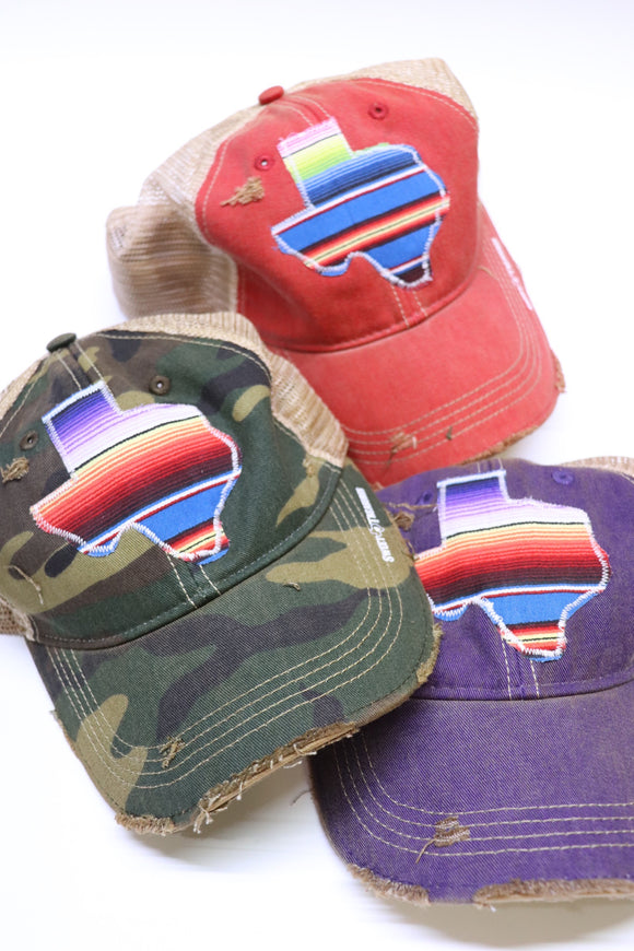 Fiesta Serape Dirty Trucker Hat