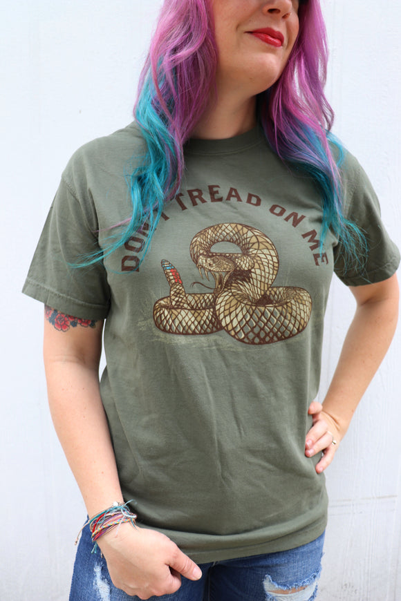 Last Call Don't Tread On Me Tee