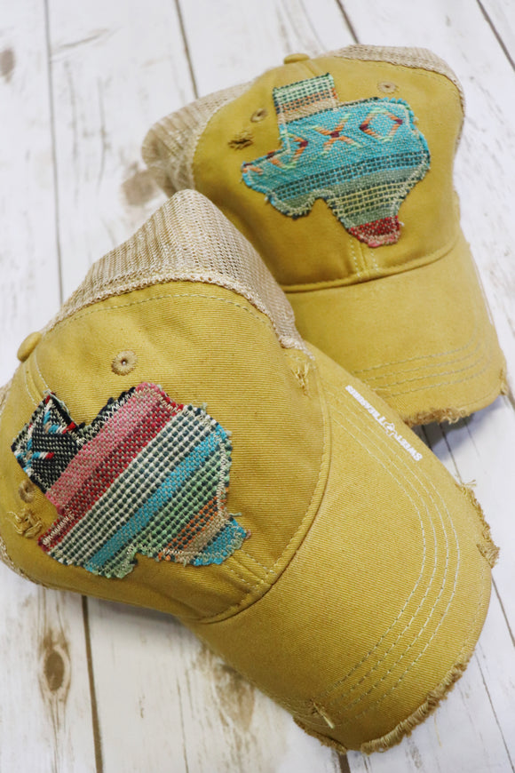 Brazos Serape Dirty Trucker Hat