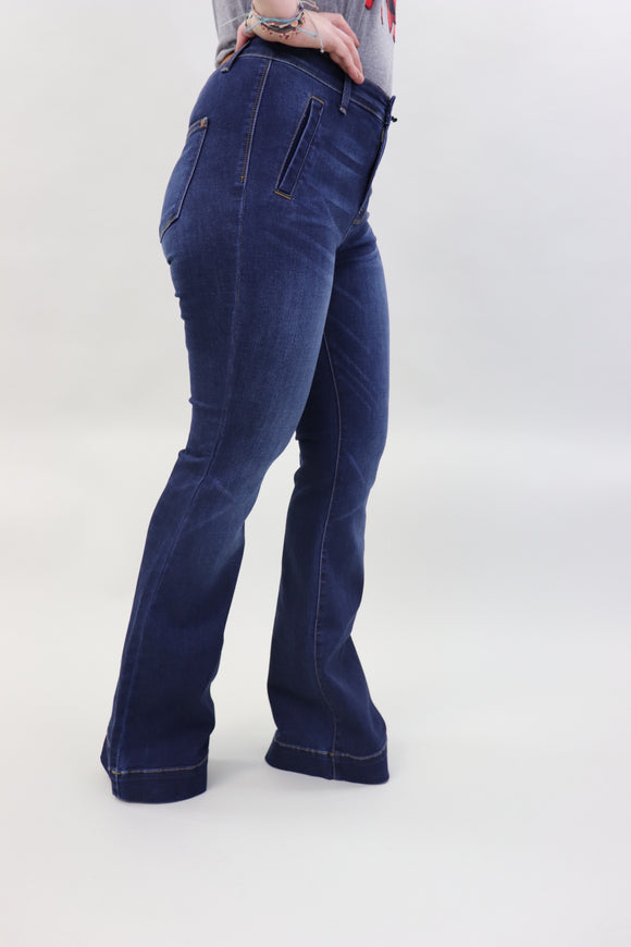 Two-Step Trouser Jeans
