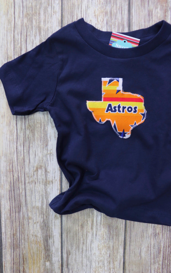 Throwback Astros Kid's Tee