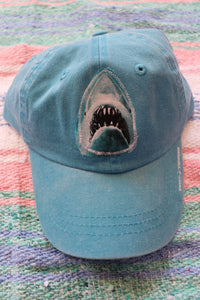 Kid's Shark Cotton Cap
