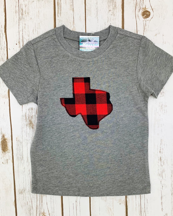 Buffalo Plaid Kid's Tee