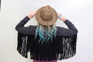 Flank Fringe Denim Jacket