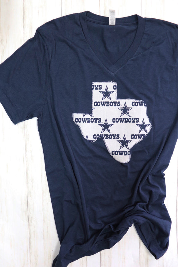 Dallas Cowboys Vneck Tee