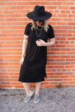 Downtown Diva Dress [Black]
