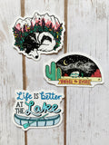 Nurture Nature Stickers [3 Styles]