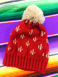 Sweet Cactus Beanie [Red]