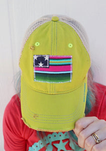 Rita Serape Flag Trucker Hat