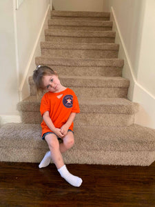 Astros Kid's Key Hole Tee [All Colors]