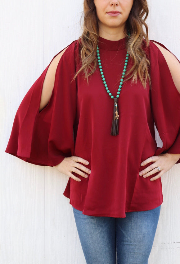 Conway Cold Shoulder Top