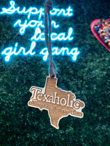 Texaholic Ornament