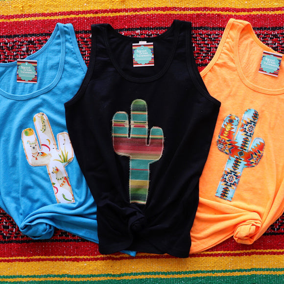 Cactus Craze Kids Tanks [Limited Edition]