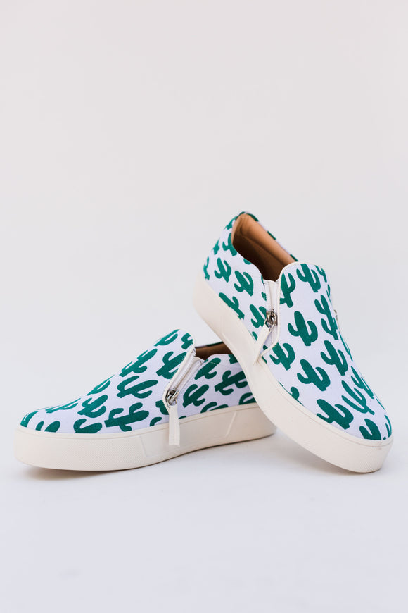 Cisco Cactus Slip-On Sneakers