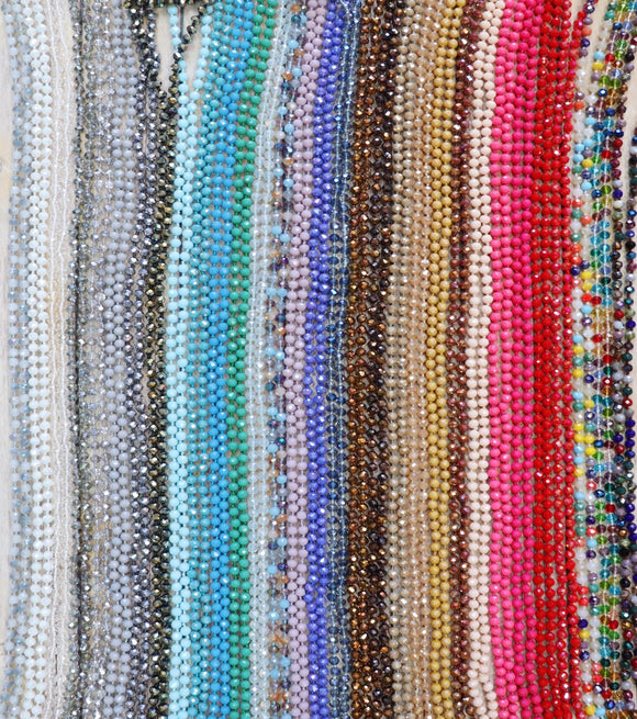 Door Buster! Double Down Bead Necklace [All Colors]