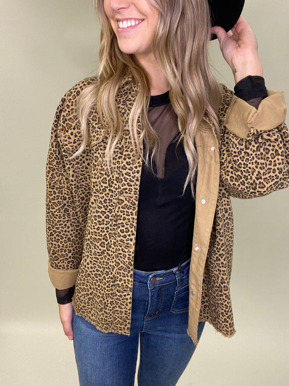 Let There Be Leopard Jacket