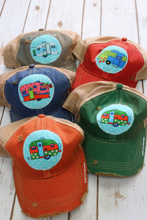 Sweet Camper Dirty Trucker Hat