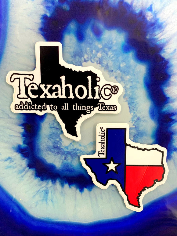 Texaholic Stickers [2 Styles]