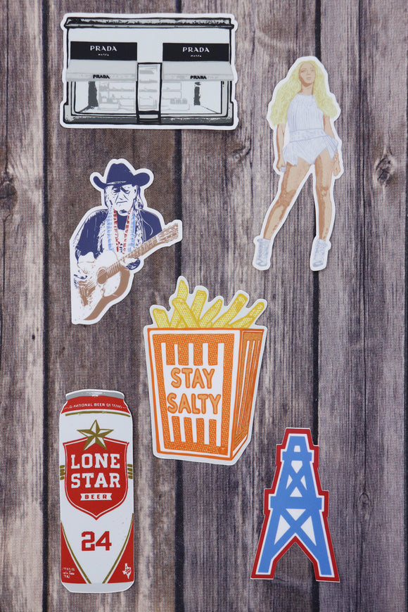 The Best Of Texas Stickers [6 Styles]