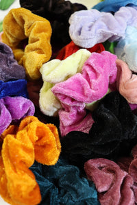 Velvet Scrunchies [All Colors]