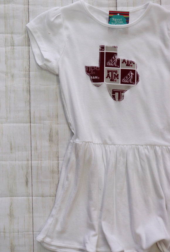 Texas Aggie Kids Dress