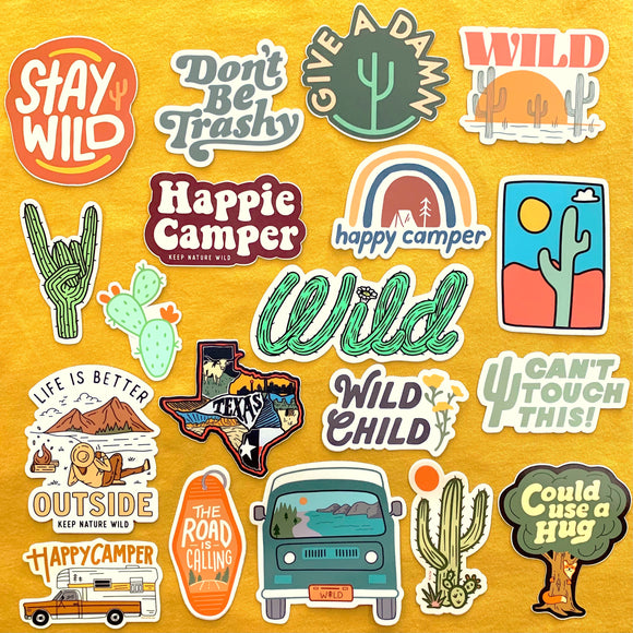 Sweet & Wild Stickers