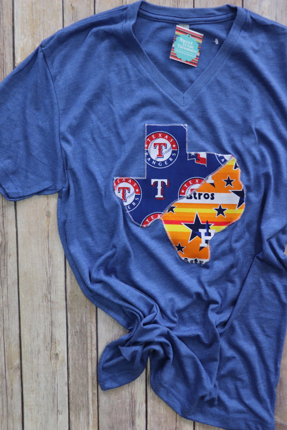 House Divided Texas Tee