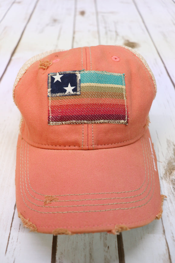 Olga Serape Flag Trucker Hat [All Colors]