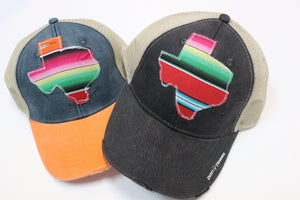 Agave Red Serape Trucker Hat